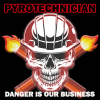 Danger Is Our Business Sticker