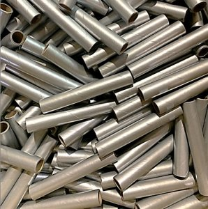"100 pc 3/4"" id -6"" Long Silver Kraft Tube"