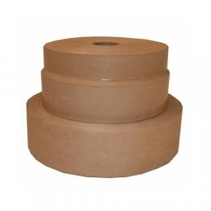 "1"" - 500 feet Kraft Non-Reinforced Gummed Paper Tape"