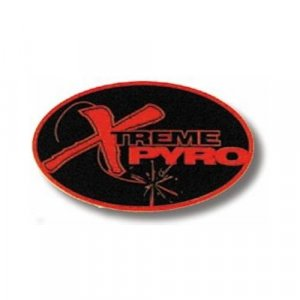 Xtreme Pyro Oval Sticker (vinyl)