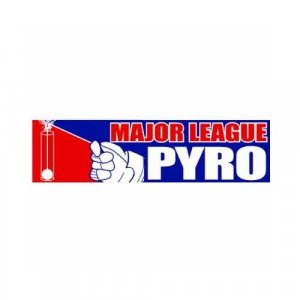 """Major League Pyro"" Bumper Sticker (vinyl)"