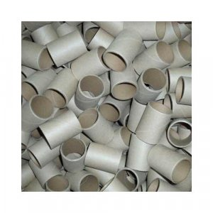 "5pc 2"" id - 3"" long - 1/8"" wall Plain Paper Tube"