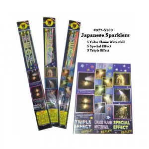 Special Effect Japanese Sparklers - 2 Pack