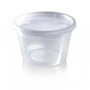 24 16oz Plastic Containers with Lids