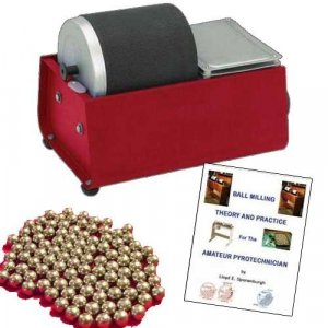 3 Lb Rotary Ball Mill Kit