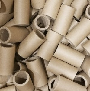 "10pc 1.26"" id - 3"" long - 0.215"" wall Heavy Kraft Paper Tube"