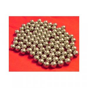 "100pc .455"" Ball Mill  Lead  Media - 1.9 lbs."
