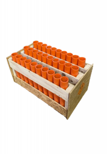 "30 Shot Rack - Straight - with 12"" DR-11 mortars"