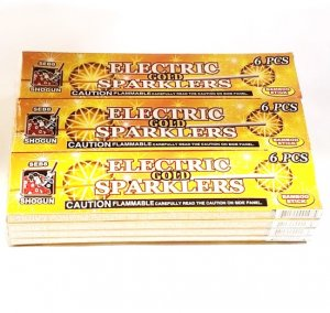 #8 Gold Bamboo Sparkler - FULL CASE