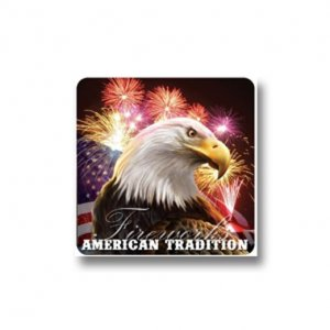 American Tradition Fireworks Sticker