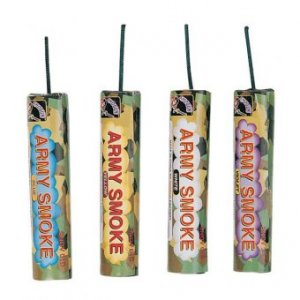 5 Pack Assorted Army Smoke