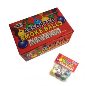 12 Packs 6pc Color Smoke Balls