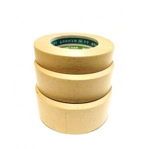 "1"" - 164 feet Kraft Non-Reinforced Gummed Paper Tape"