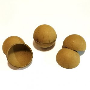 10 Sets - 6in Paper Ball Shell Casing