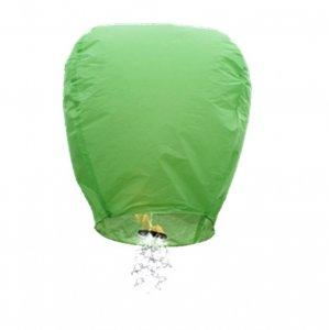1pc Green Shooting Star Sky Lantern