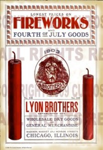 Lyon Brothers Fireworks