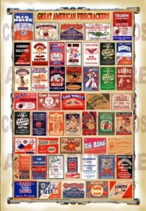 Great American Firecracker Labels