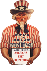 Uncle Sam Fireworks