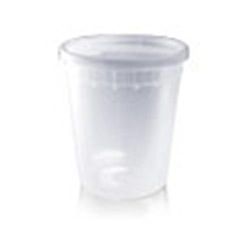 24 32oz Plastic Containers with Lids