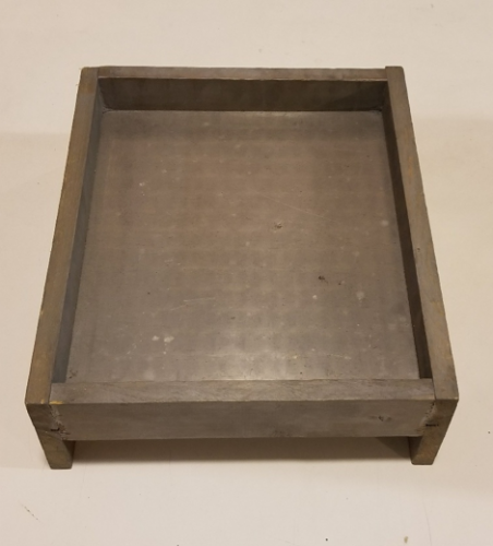 Vintage Salute Manufacturing Tray