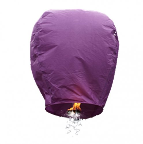 1pc Purple Shooting Star Sky Lantern